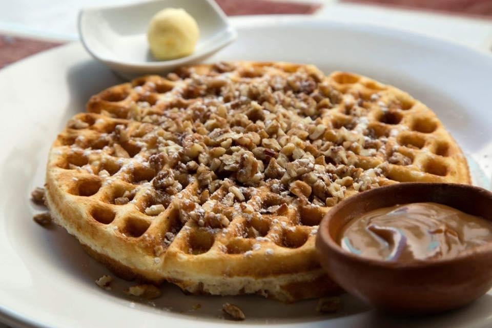 Waffle nuez